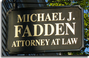 real estate conveyancing, development and financing services from Attorney Michael J. Fadden of Dracut, MA